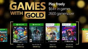 free games with gold november 2016 xbox one xbox 360 youtube