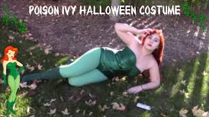 poison ivy halloween costume youtube