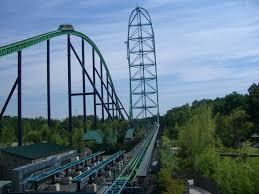 List Of Roller Coasters At Six Flags Great Adventure Ride The Kingda Ka Roller Coaster Bucket List Pinterest