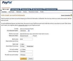 teks prosedur membuat rekening bank cara withdraw paypal ke bank lokal blog tutorial bisnis online