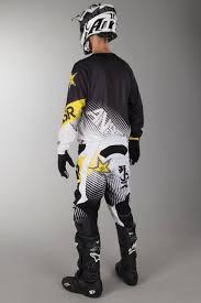answer motocross gear answer a16 rockstar kit white black now 41 savings 24mx