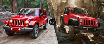 jeep unlimited 2017 2017 jeep wrangler vs jeep wrangler unlimited