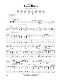 turtle blues by janis joplin guitar tab guitar instructor