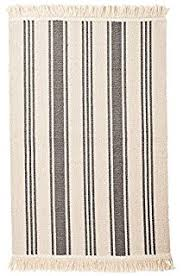 Green Kitchen Rugs Amazon Com Ikea Flatwoven Area Kitchen Rug Stripes Cotton Green