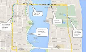 Palm Beach Map Flagler Bridge Why Johnny Still Won U0027t Be Able To Ride To The