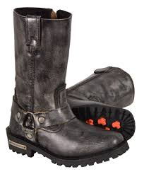 ladies biker style boots bikerswearonline your one stop apparel store