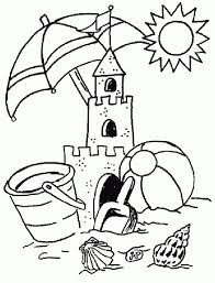 Summer Coloring Pages For Kids Coloring Pages Summer Coloring Summertime Coloring Pages