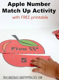 apple number match up activity fspdt