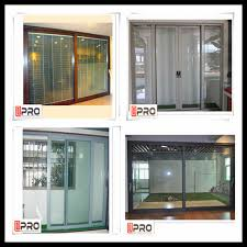 soundproof glass sliding doors cheap sliding doors price of aluminum glass sliding door