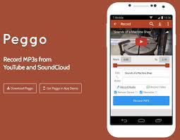to mp3 android apk peggo app to mp3 converter android