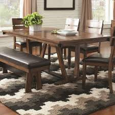 coaster dining room sets coaster avalon casual dining room set with dining table 6 x side