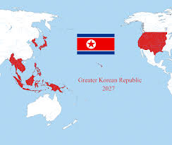 World Map Korea Super North Korea Vs Galactic Republic Battles Comic Vine