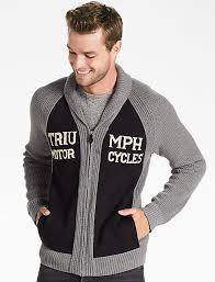 mens full zip sweater lucky brand