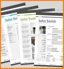 Resume Template Docx 5 John Smith Resume Template Ledger Paper