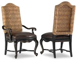 Dining Room Arm Chairs Upholstered Hooker Furniture Dining Room Corsica Dark Upholstered Arm Hooker