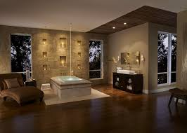 ideas for bathroom decorating theme with contemporary recessed