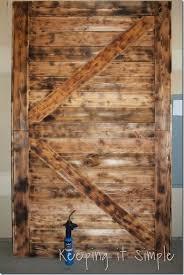 Large Barn Diy Large Barn Door Perfect For Large Openings Diy Buildit