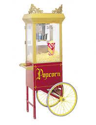 popcorn machine rental 110 3 day rental popcorn machine w cart from sfparty jen