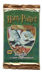harry potter trading cards game wizard of coast base booster