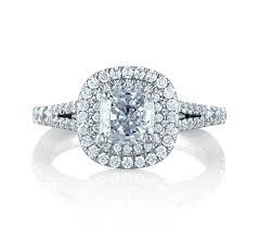 cushion diamond ring classic halo cushion engagement ring engagement rings