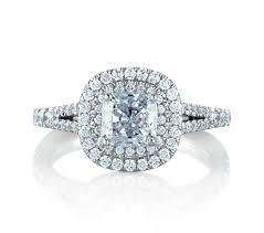 cushion ring classic halo cushion engagement ring engagement rings