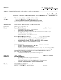 Functional Resume Examples Career Change by Resume Examples For Experienced Professionals