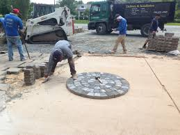 Laying Patio Pavers by How To Install A Paver Patio Southern Exposure