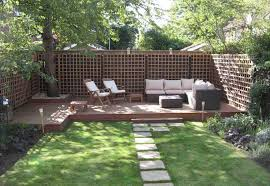 Idea For Garden Garden Decking Ideas Wowruler