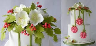 Simple Christmas Cake Decorations Ideas by Classic Christmas Cake Designs Cake Geek Magazine
