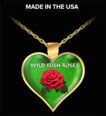 photo gifts necklace images Wild irish rose necklace great irish gift unique gifts gallery png