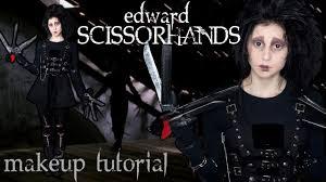 Baby Safe Halloween Makeup Edward Scissorhands Makeup Tutorial Halloween 2014 Youtube