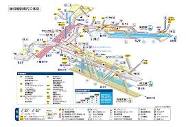 Shinagawa Station Map Japan Urban Transport Compilation Page 295 Skyscrapercity