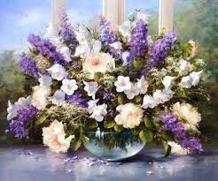 lavender bouquet paint by numbers kit lavender bouquet best paint by numbers