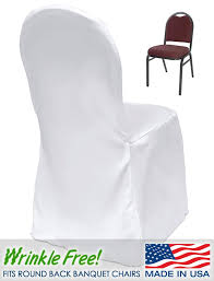 white banquet chair covers scuba banquet chair cover premium quality urquid linen