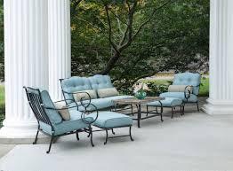 hanover oceana 6 piece outdoor conversation set w deep seat cushions