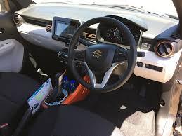 Suzuki Ignis Interior 2017 Suzuki Ignis Launch Review Behind The Wheel