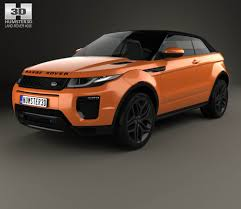 evoque land rover convertible land rover range rover evoque convertible 2016 3d model hum3d
