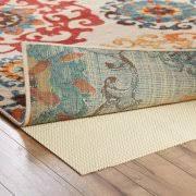 Rug On Carpet Pad Safavieh Carpet To Carpet Area Rug Pad Walmart Com