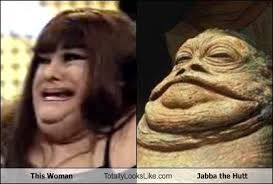 Jabba The Hutt Meme - this woman totally looks like jabba the hutt memebase funny memes