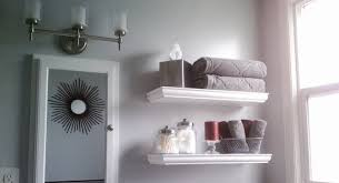 Bathroom White Shelves Terrific White Bathroom Shelves Plain Decoration Home Design