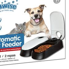 48 Hours Auto Dog Food Dispenser Timer Cat Feeder Dog Bowl