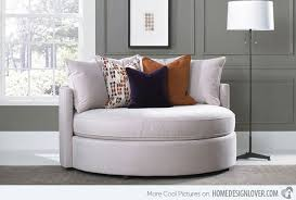 Round Armchairs Plush Design Comfy Oversized Chair Oversized Lounge Chair As