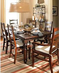 knockout knockoffs pottery barn sumner dining table inspiration