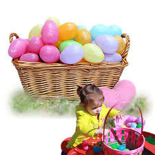 large fillable easter eggs 1650 count plastic easter eggs kids play hunt large fillable