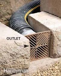 Drainage Ideas For Backyard Collect Or Drain Ways To Handle Water On Your Property Yard