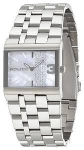 ladies steel bracelet images Ladies police watch pl 10501bs 28ma crystal set stainless steel jpg