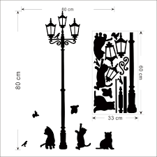 Diy Butterfly Decorations by Lamppost Cats Butterfly Wall Stickers Home Decor Diy Wall Decals