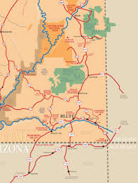 Utah National Park Map by Maps Of Area Around Bluff Utah Bluff Utah