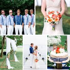 nautical wedding a vintage inspired nautical summer wedding in coral navy chic