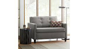 Sleeper Sofa Support Karnes Twin Sleeper Sofa Chair Crate And Barrel